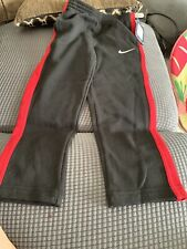Nike Sweatpants Pants Black Red Boys Youth Size 6 NWT