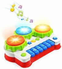 NextX Babyspielzeug Klavier und Trommel Musikspielzeug mit Lichter  für Baby NEU
