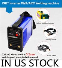 220V IGBT INVERTER ARC 200A 200A WELDING MACHINE & welding helmet IN US Stock