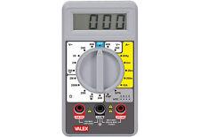 VALEX P3000 TESTER DIGITALE 9V TENSIONI CORRENTE ALTERNATA CONTINUA 6FUNZIONI