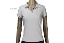 Polo Maglietta Donna Ragazza Taglia M Burberry Woman Polo T-Shirt Size M