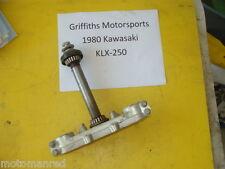 79 80 Kawasaki KLX250A klx250 klx 250 LOWER STEERING STEM TRIPLE FORK CLAMP TREE