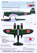 Rising Decals ACR038 1/72 Japanese Navy 20mm cannon Type 99 for E13A1 Jake Has