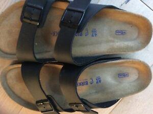 Birkenstock 47 schwarz 1x getragen