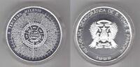 SAINT THOMAS AND PRINCE SILVER 2000 DOBRAS COIN 1998 YEAR KM#86 MILLENNIUM +COA