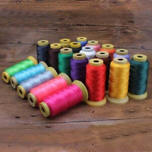 0.5mm Polyester Nylon Sewing Thread For Upholstery Denim Leathercraft Car Seat