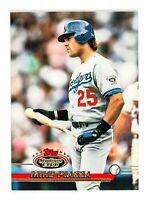 Mike Piazza #585 (1993 Stadium Club) Baseball Card, Los Angeles Dodgers, HOF