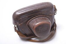 "Early*  Leica M3 3/8"" 'Idcoo' (1954) Leather 'Erc' Ready Case W/ Strap."