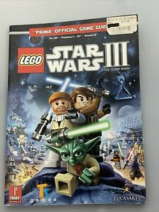 Lego Star Wars III Clone Wars Official Game Guide Xbox 360 PS3 Wii NDS