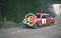 Photo Jack Tordoff JCT600 Saab 96 V4 1972 Mintex Seven Dales Rally