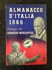 ALMANACCO D'ITALIA 1960  Omaggio del Corriere Mercantile - Edizioni A.G.E.