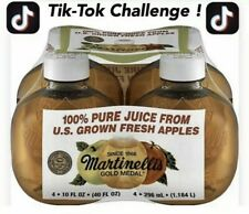 Martinelli's Apple Juice, 10-oz Pet (Pack of 4) IN HAND NOW FAST SHIPPING TIKTOK