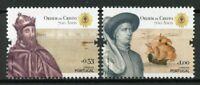 Portugal 2019 MNH Founding of Order of Christ 2v Set Ships Boats Religion Stamps