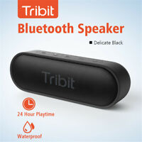 Tribit IPX7 Waterproof 24 Hour Playtime 66ft Bluetooth Range Bluetooth Speakers