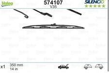 x1 Universal Wiper Blade Silencio 574107 V35 by Valeo Rear Left/Right 350mm 14in