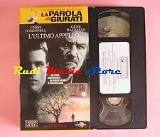 film VHS cartonata L'ULTIMO APPELLO C. O'Donnell G. Hackman 1996   (F37) no dvd