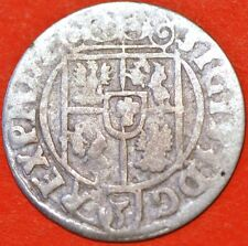 Poland Medieval 162!. Sigismund III . 1/24 Thaler. Silver Coin