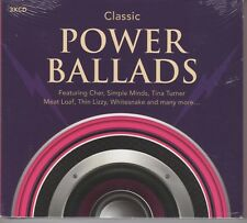 Classic Power Ballads - Various 3CD Set - NEW & SEALED 1st Class Post From UK