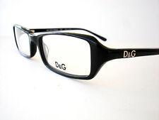 Dolce & Gabbana Eyeglasses D&G 1113 Black 501 Authentic 51-17-135