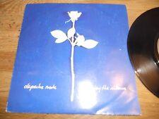 "DEPECHE MODE ""ENJOY THE SILENCE / MEMPHISTO"" 1990 MUTE RECORDS FRANCE SACEM RARE"