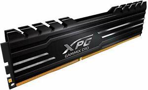 ADATA XPG GAMMIX D10 8GB BLACK DDR4 3000MHz PC4-24000 CL16 DESKTOP Memory RAM
