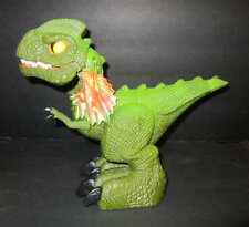 Mattel 2008 Screature Interactive Dinosaur Toy Prehistoric Pets Snaps Growls 9""