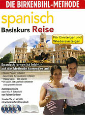 Birkenbihl Spanisch Reise 3 CD,s+1x MP3 CD+Booklett Neu+in Folie