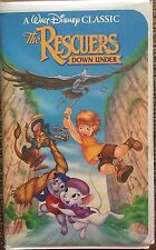 RARE The Rescuers Down Under Black Diamond Classics Collection VHS