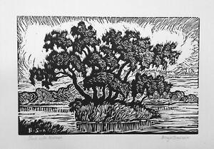 Sandzen, Birger Pond with Willows