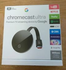 GOOGLE CHROMECAST ULTRA 4K HD Latest version Internet Media Streamer Device 2017