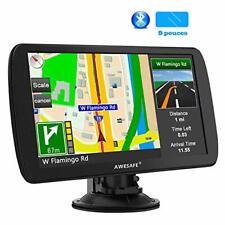 GPS 9 Pouces pour Voiture et Poids Lourds Cartes de 48 Pays européens avec Bl...