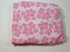 """Li'l Bratz Floral Sheet w/ 9"""" Pocket ~ Pink & White ~ Full"""