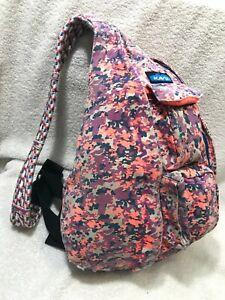 KAVU Original Rope Sling Bag Cotton Backpack