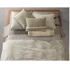Calvin Klein Home Studio Sintra Standard Pillow Sham Flax Olive Cream