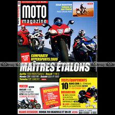 MOTO MAGAZINE N°260 KTM 990 SUPER DUKE DUCATI 1098 STREETFIGHTER HONDA DN-01