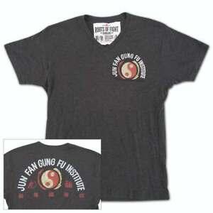 EC Roots of Fight Bruce Lee JKD Jun Fan Gung Fu Instructor T-Shirt Size Small