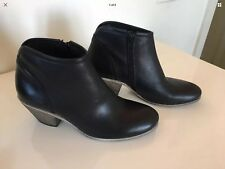 New Beltrami Leather Boots Cuoco Black Size 38 Made In Italy RRP $279 #9