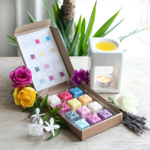 FLORAL WAX MELTS SELECTION BOX GREAT PRESENT/GIFTSET, FREE P&P