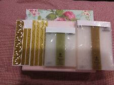 Anna Griffin Die Embossing Folder Lace Cuttlebug 23 Piece Lot Cricut Border New