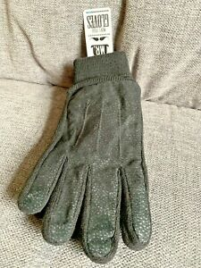 Wilkinson Mens Gloves New Suede One Size Gift Present Winter Black