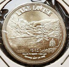 1982 Banff Alberta $1 Trade Token - Lake Louise