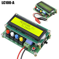 LC100-A High Precision Digital Inductance Capacitance L/C Power Meter Board Top