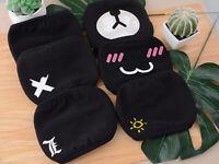 Unisex Lovely Cartoon Cotton Face Masks Keep Warm Men Women Clothing