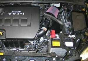 Fits 2009-2016 Toyota Corolla 1.8L K&N Performance Cold Air Intake 69-8757TTK