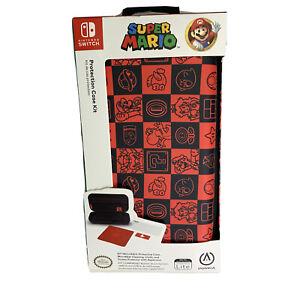 Nintendo Switch Lite Protective Case Super Mario Checkerboard New