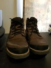 Keen Men's The Rocker Brown Waterproof Leather Boots Size 9 Style 1017488