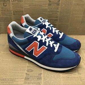 New Balance Mens 996 V1 M996JC1 Blue Orange Running Shoes Lace Up Low Top Sz 11D