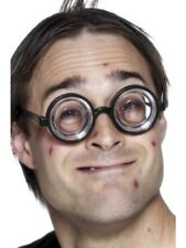 Nerd Specs Schoolboy Glasses Geek Nerd Glasses - Mens Fancy Dress