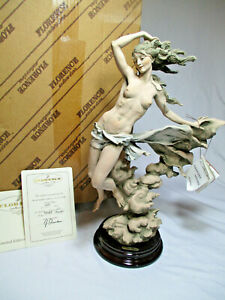 "New Giuseppe Armani Florence ""Zephyr"" Figurine Limited Edition w/COA"