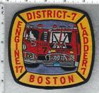 Boston Fire Department (Massachusetts) Engine 17 - Ladder 7 Shoulder Patch